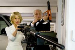 Helen Mirren and John Malkovich are dressed to kill