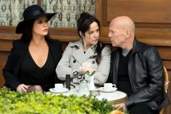 Catherine Zeta-Jones, Mary-Louise Parker, and Bruce Willis in Red 2.