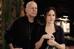 Bruce Willis and Mary-Louise Parker in Red.