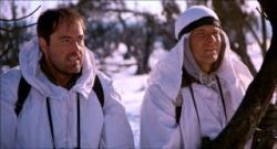 Powers Boothe and Patrick Swayze in Red Dawn.