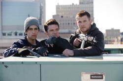 Josh Peck, Josh Hutcherson and Chris Hemsworth in Red Dawn