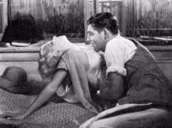 Jean Harlow and Clark Gable in Red Dust.