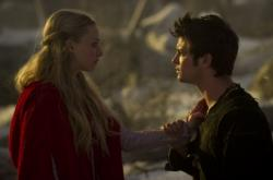 Amanda Seyfried and Shiloh Fernandez in Red Riding Hood