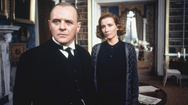 Anthony Hopkins and Emma Thompson in The Remains of the Day.