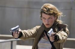 Milla Jovovich in Resident Evil: Extinction.