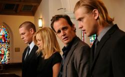 John Cena, Amy Smart, Ethan Embry and Boyd Holbrook in The Reunion