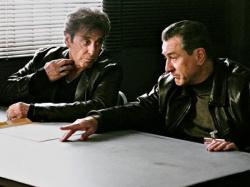 Al Pacino and Robert De Niro in Righteous Kill