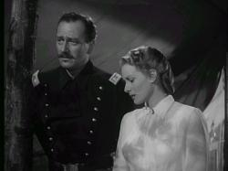 John Wayne and Maureen O'Hara in Rio Grande.
