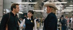 Ryan Reynolds, Mary-Louise Parker and Jeff Bridges in R.I.P.D.