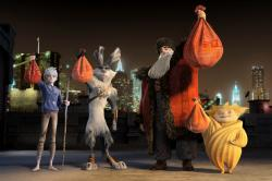 Chris Pine, Hugh Jackman and Alec Baldwin provide some of the voices in Rise of the Guardians.