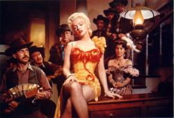 Marilyn Monore in River of No Return.