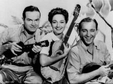 Bob, Dorothy and Bing set off on the very first Road trip.