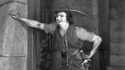 Douglas Fairbanks as Robin Hood.