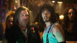 Alec Baldwin and Russell Brand can't fight the feeling in Rock of Ages.