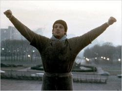 Sylvester Stallone is Rocky.
