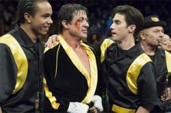 Sylvester Stallone and Milo Ventimiglia in Rocky Balboa.