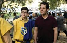 Christopher Mintz-Plasse and Paul Rudd in Role Models