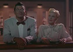 Jack Carson and Doris Day in Romance on the High Seas.