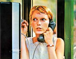 Mia Farrow in Rosemary's Baby.