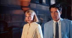 Mia Farrow and John Cassavetes in Rosemary's Baby