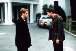 Matt Damon and Edward Norton in Rounders.