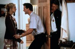 Daryl Hannah, Rick Rossovich and Steve Martin  in Roxanne