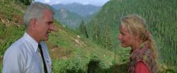 Steve Martin and Daryl Hannah in Roxanne.