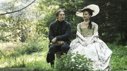 Mads Mikkelsen and Alicia Vikander in A Royal Affair.