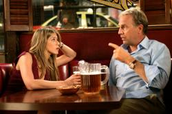 Jennifer Aniston and Kevin Costner in Rumor Has It.