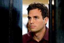 Mark Ruffalo has less screen time, but is more convincing than Aniston.