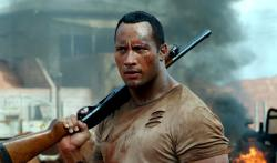 Dwayne Johnson in The Rundown.