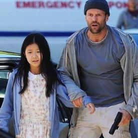 Catherine Chan and Jason Statham in Safe