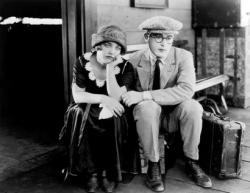 Mildred Davis and Harold Lloyd in Safety Last.