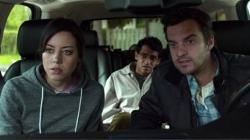 Aubrey Plaza, Karan Soni and Jake M. Johnson in Safety Not Guaranteed.