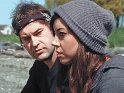 Mark Duplass and Aubrey Plaza in Safety Not Guaranteed.