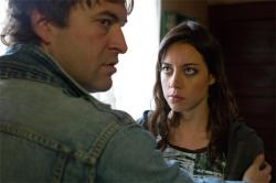 Mark Duplass and Aubrey Plass in Safety Not Guaranteed