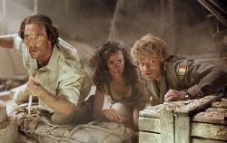 Matthew McConaughey, Penelope Cruz and Steve Zahn in Sahara.