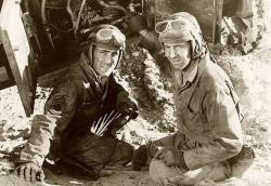 Humphrey Bogart stars in Sahara.