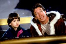 Eric Lloyd and Tim Allen in The Santa Clause