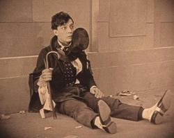 Buster Keaton in The Saphead.