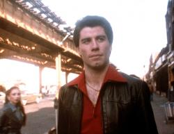 John Travolta as Tony Manero in Saturday Night Fever.