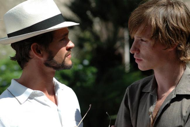 Hugh Dancy and Eddie Redmayne in Savage Grace