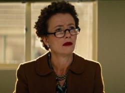 Emma Thompson as P.L. Travers in Saving Mr. Banks.