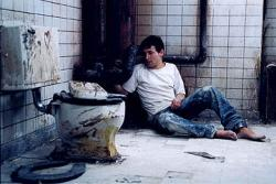Leigh Whannell in Saw.