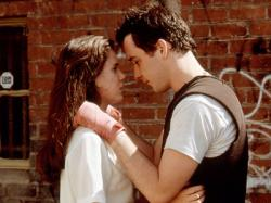 Ione Skye and John Cusack in Say Anything.