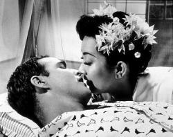 Marlon Brando and Miiko Taka in Sayonara.