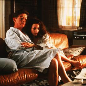 John Hurt and Joanne Whalley in Scandal.