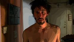 Keanu Reeves in Scanner Darkly.