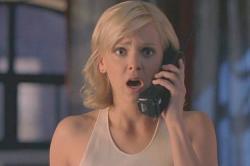 Anna Faris in Scary Movie 3.
