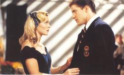 Amy Locane and Brendan Fraser in School Ties.